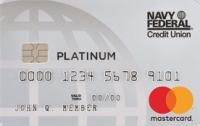 Navy Federal Platinum Credit Card