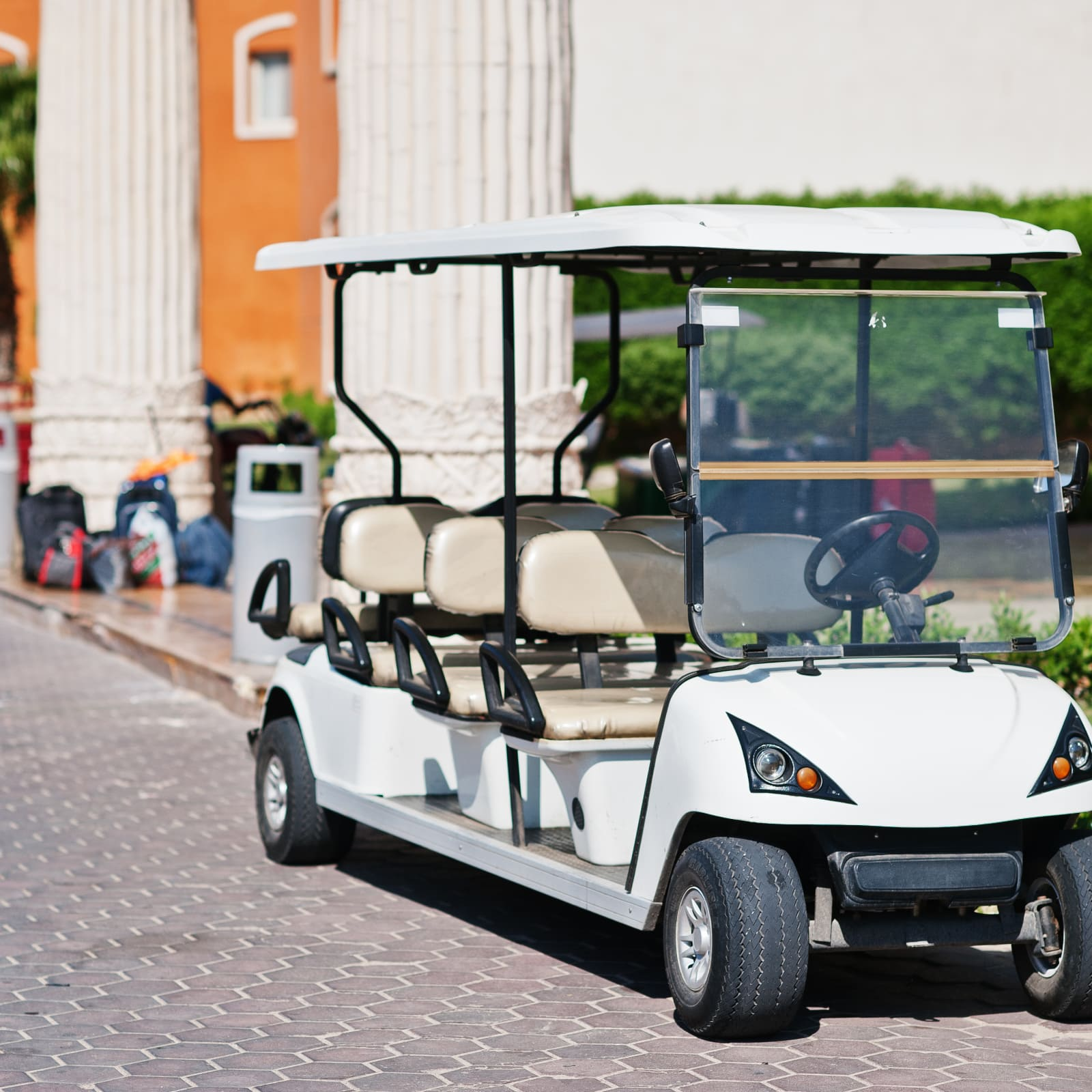 What company of electric carts should be bought for a large furniture warehouse and what are their differences 11