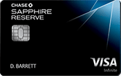 Chase Sapphire Reserve® Image