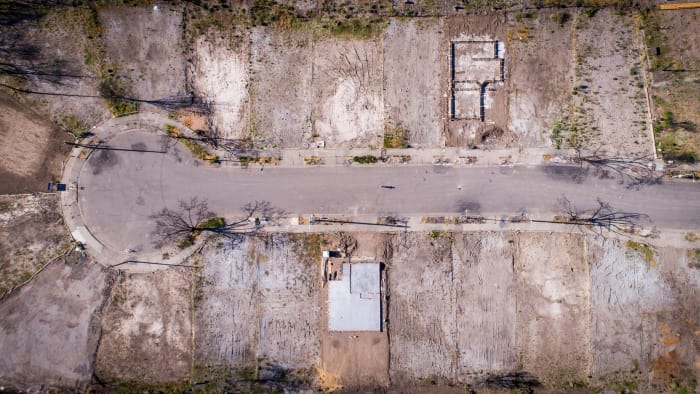 Ash is all that remains of many California homes after the deadly Camp Fire