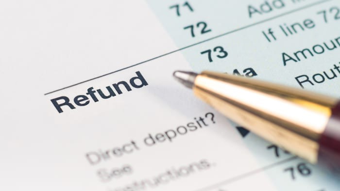 The Average Tax Refund Is Down 8.4%