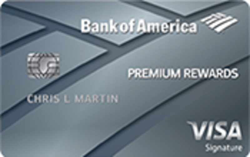 Bank Of America 174 Premium Rewards 174 Credit Card Is It The New Top Travel Card Credit Card