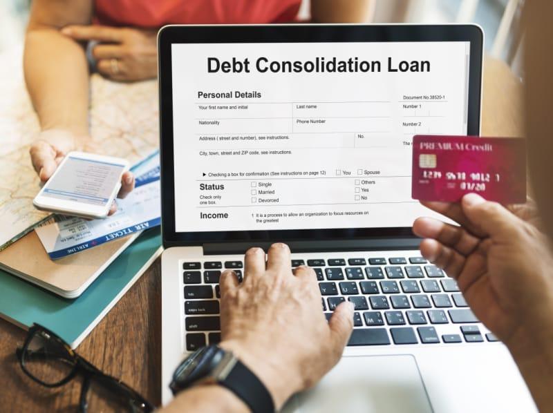 Consolidating bills credit cards