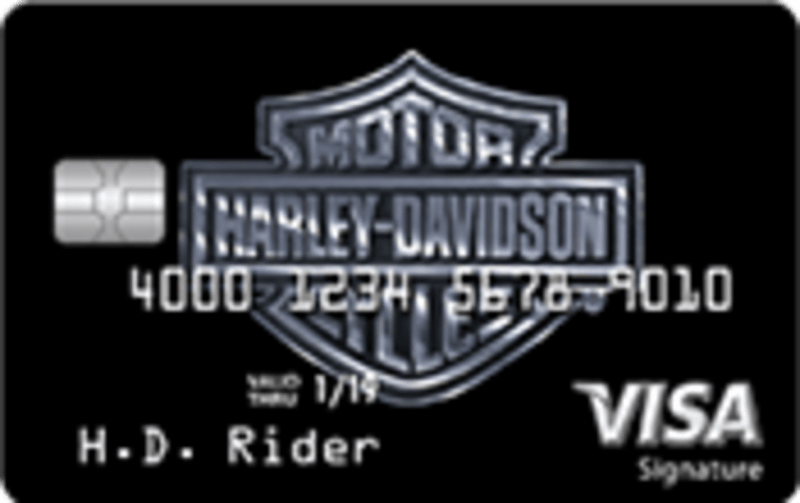Harley Davidson Visa Signature Credit Card Is It Good Credit