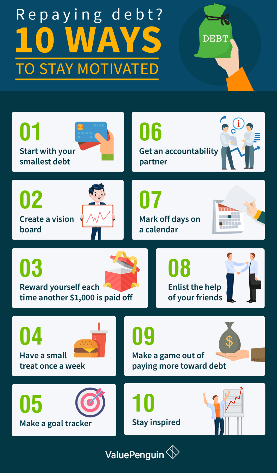 How to Stay Motivated As You Repay Debt