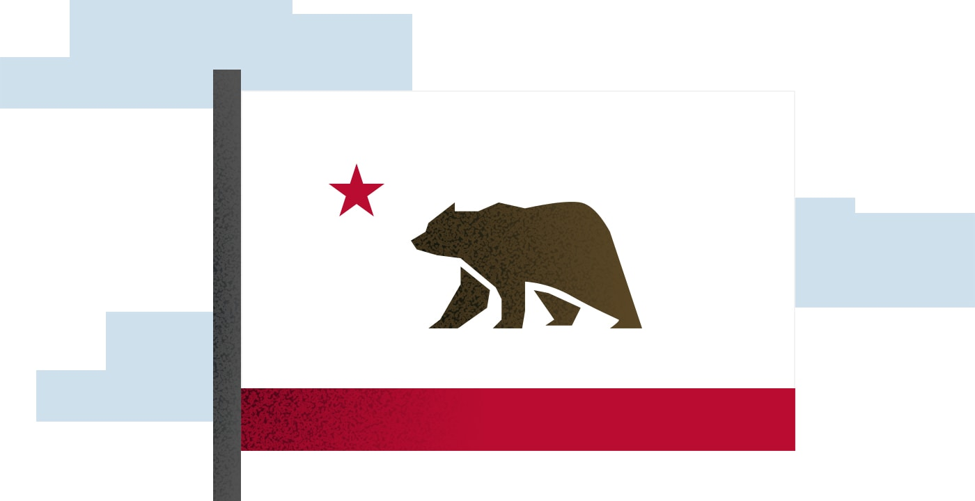 Living in California graphic