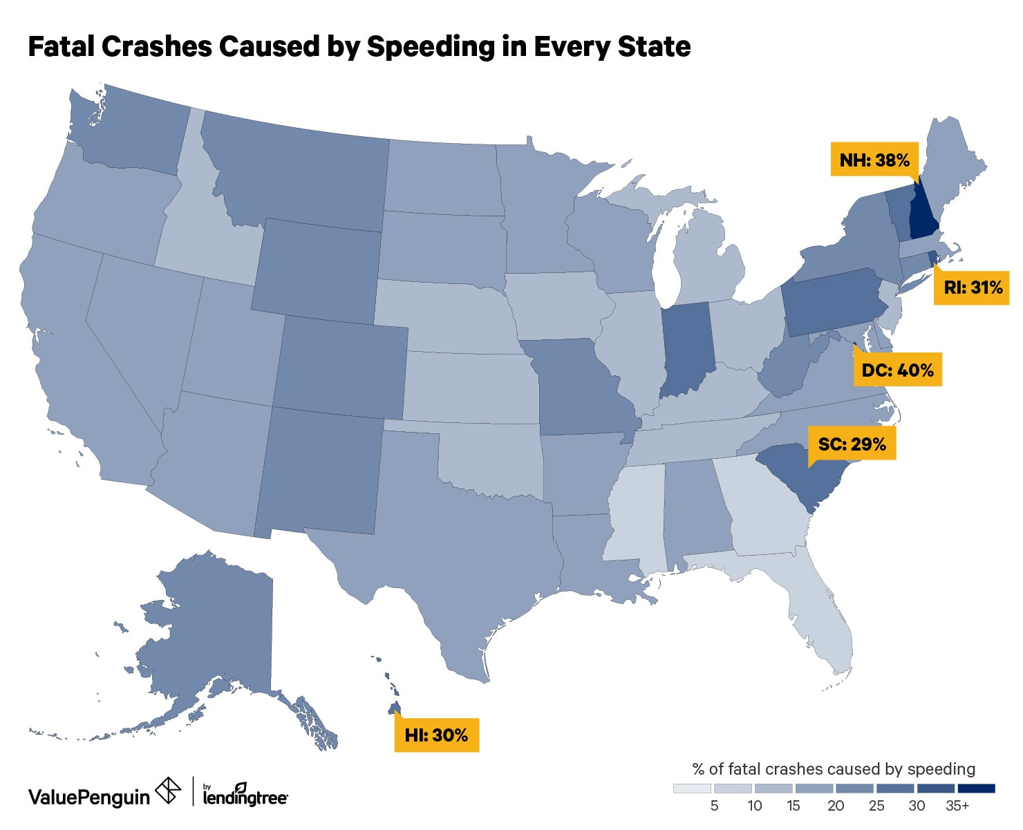 Speeding is the leading cause of fatal car crashes in the