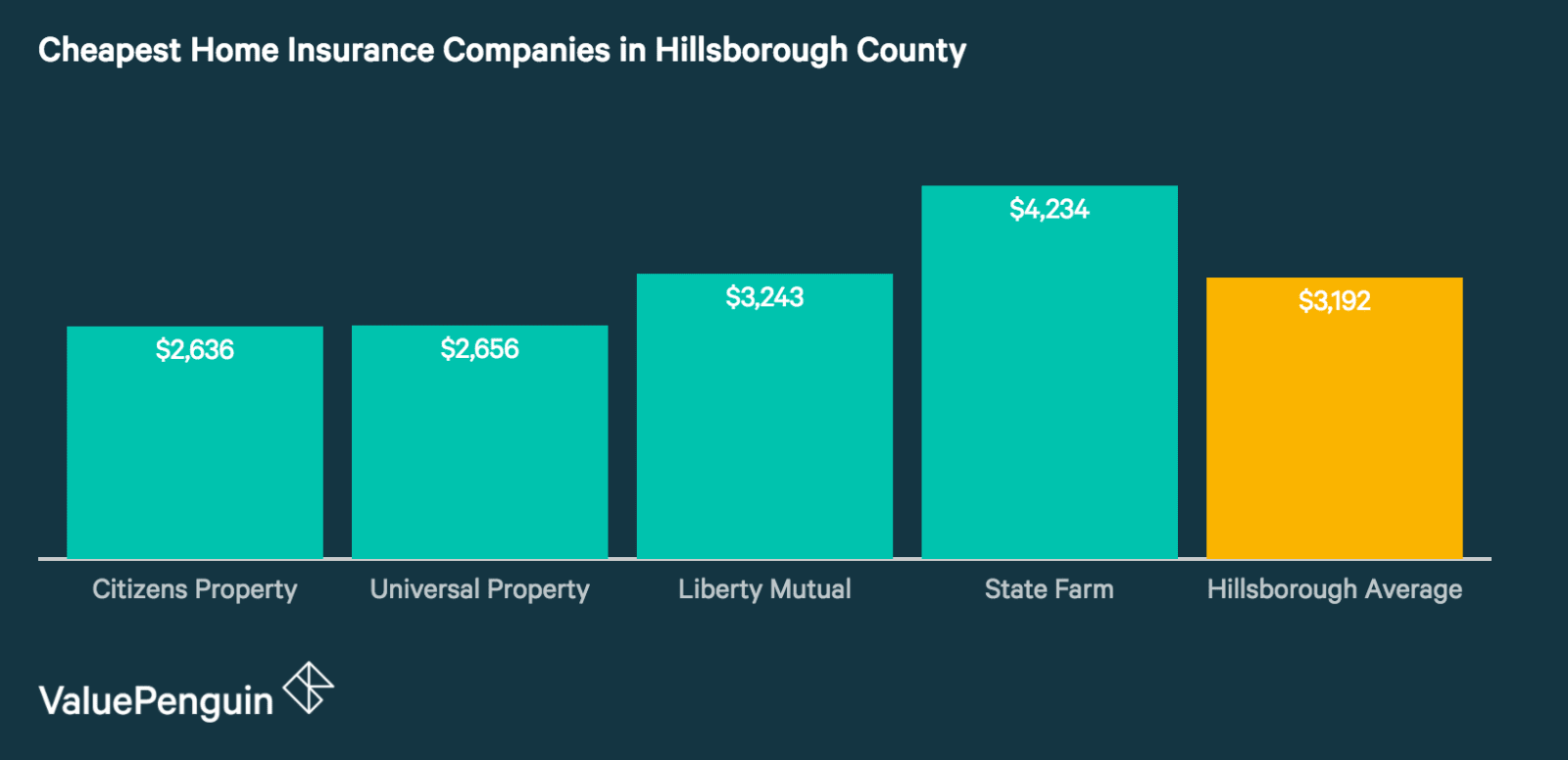 Hillsborough's Best Home Insurance Companies