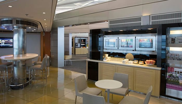 Credit cards with complimentary airport lounge access benefits pictured above is the united club in hong kong image source united reheart Images