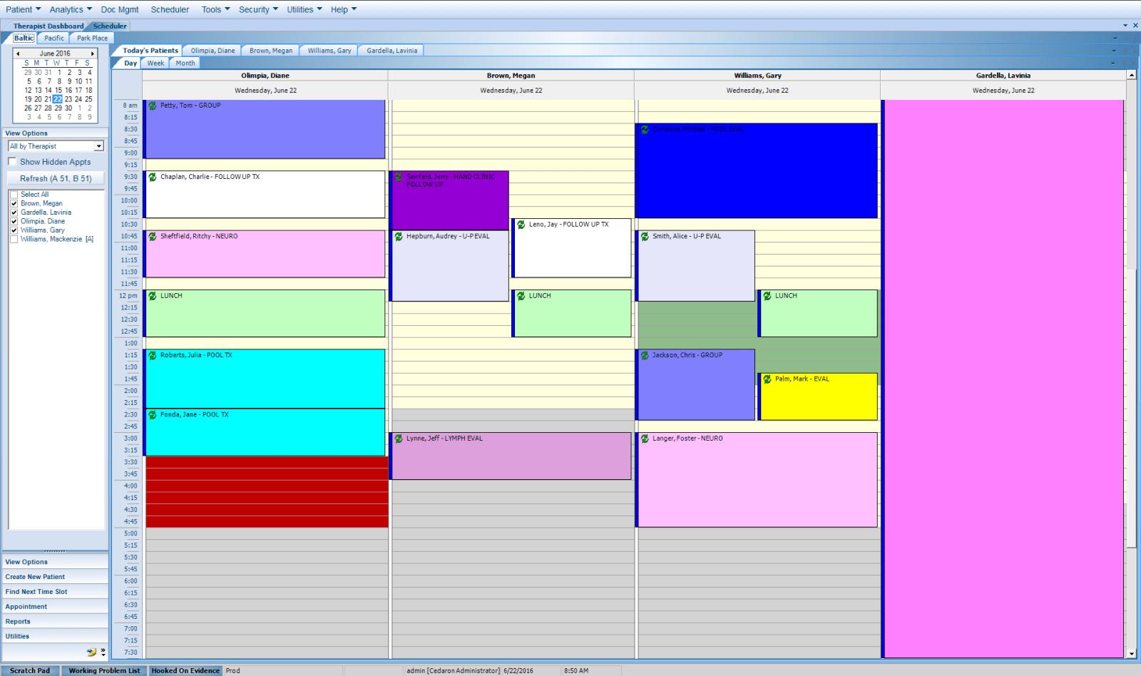 APTA Connect Scheduler