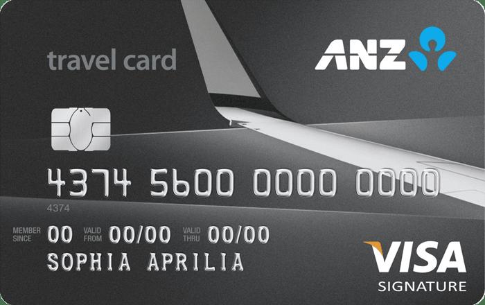 ANZ Travel Visa Signature Card