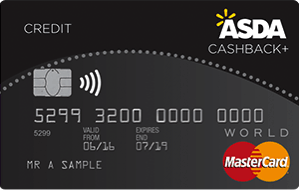 Asda Cashback Plus Credit Card