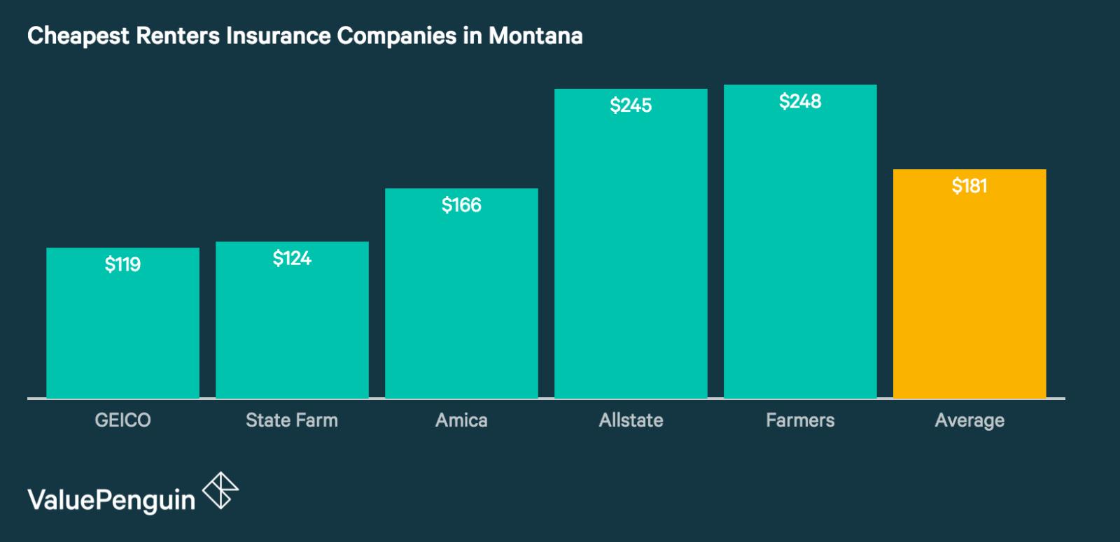 Best Renters Insurance in Montana