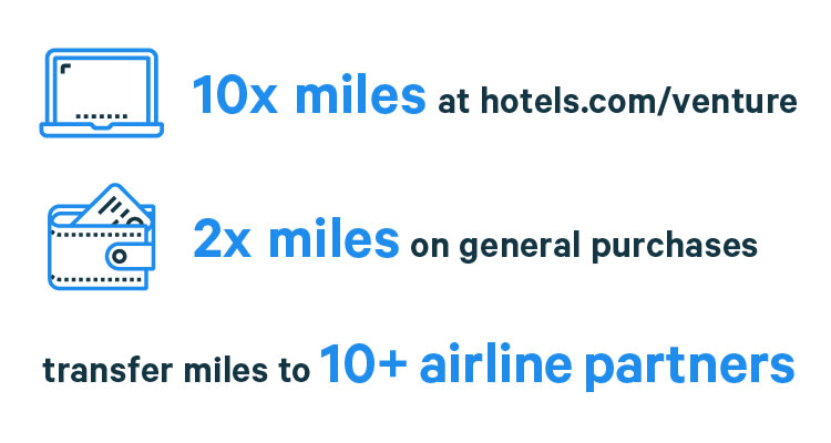 rewards rates for the Capital One Venture credit card