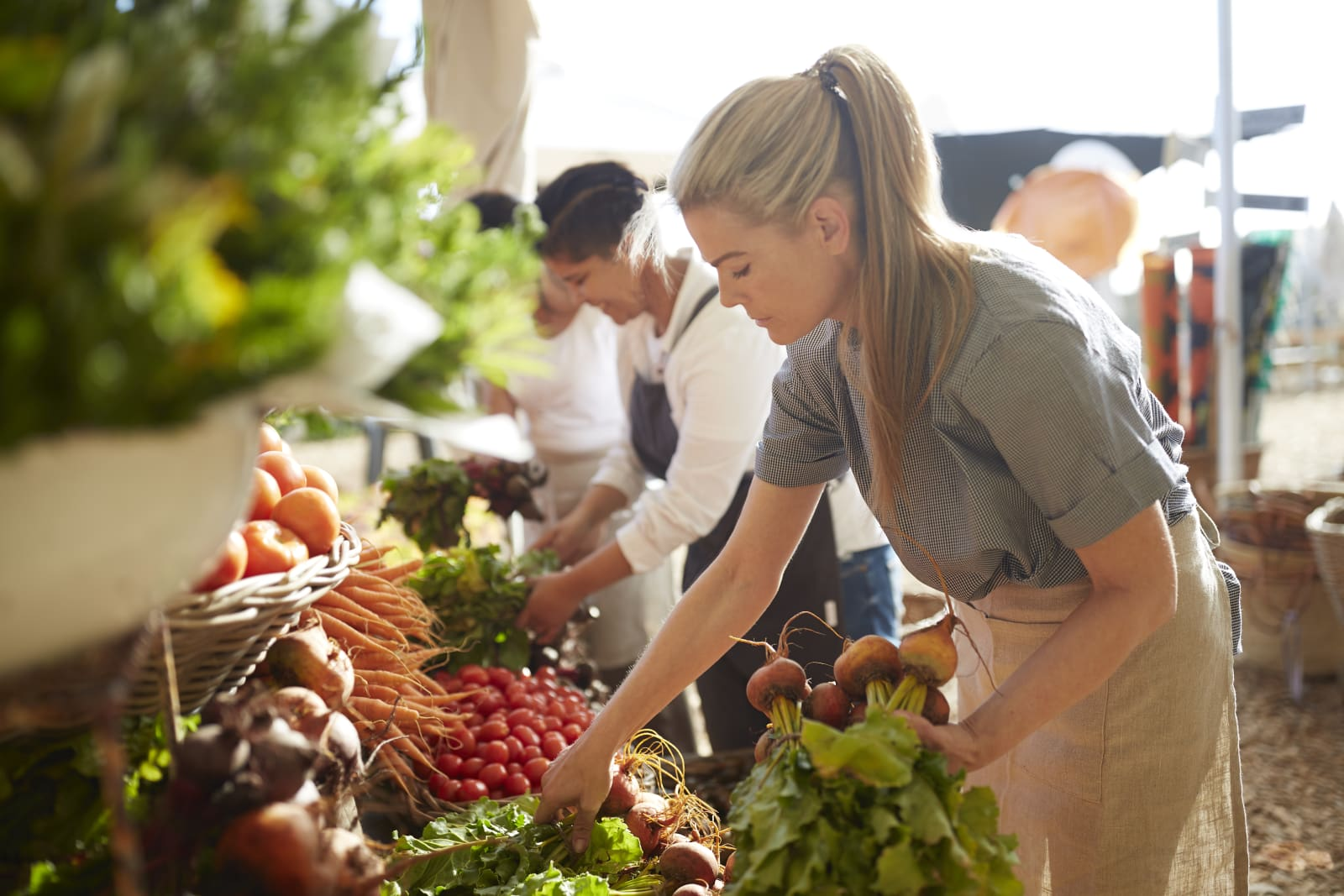 Farmers markets have exploded in popularity in recent years.