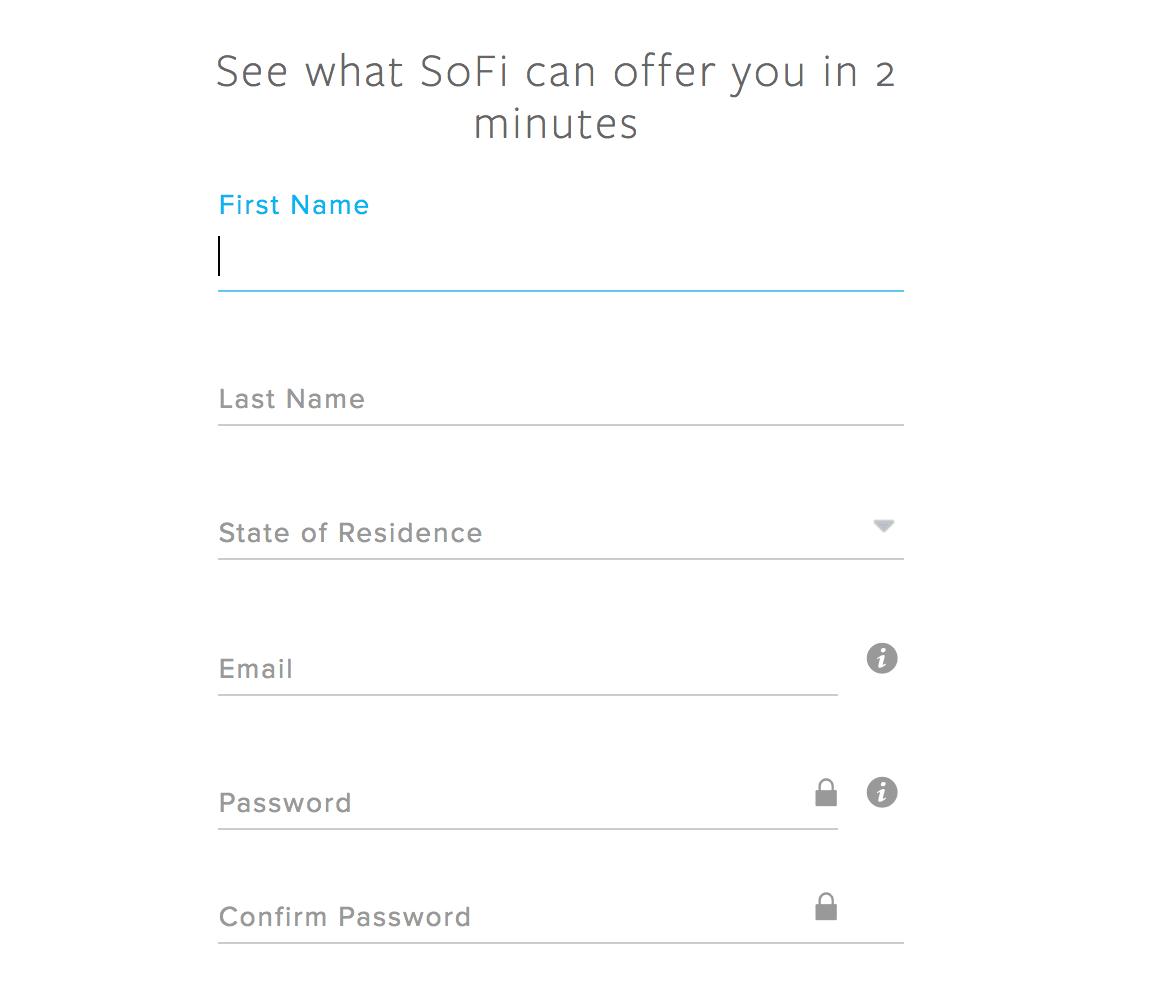 SoFi Application
