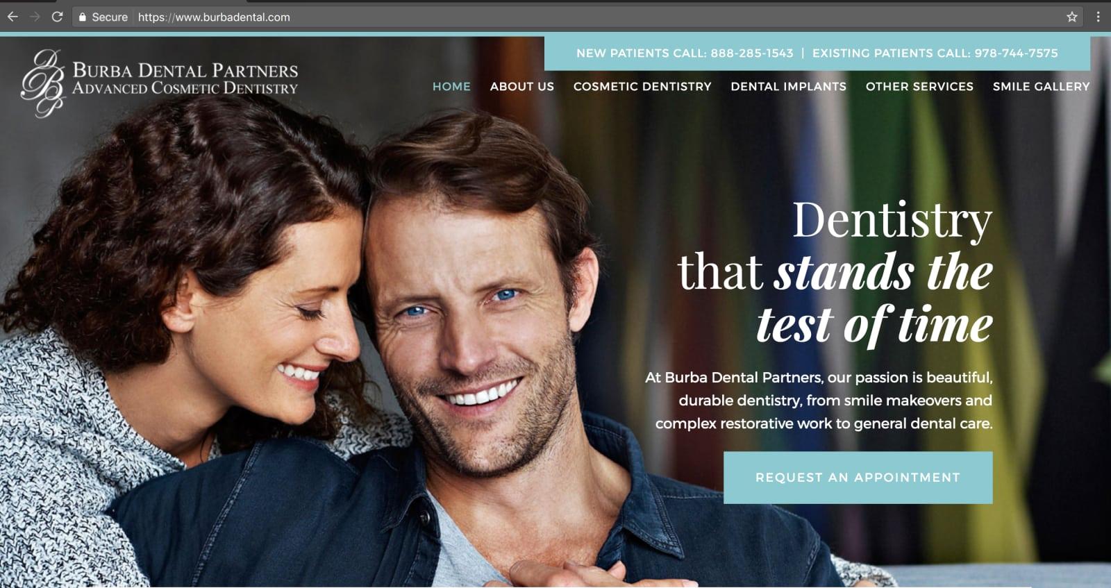 Burba Dental SolutionReach Example