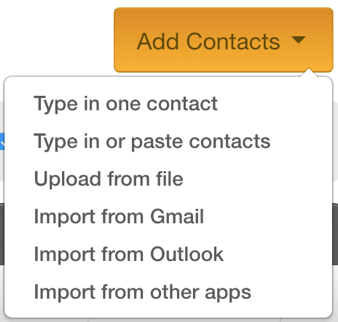 Constant Contact Review Add Contacts