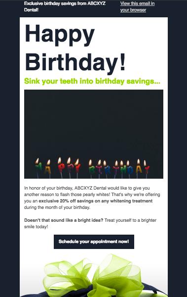 MailChimp Final Newsletter