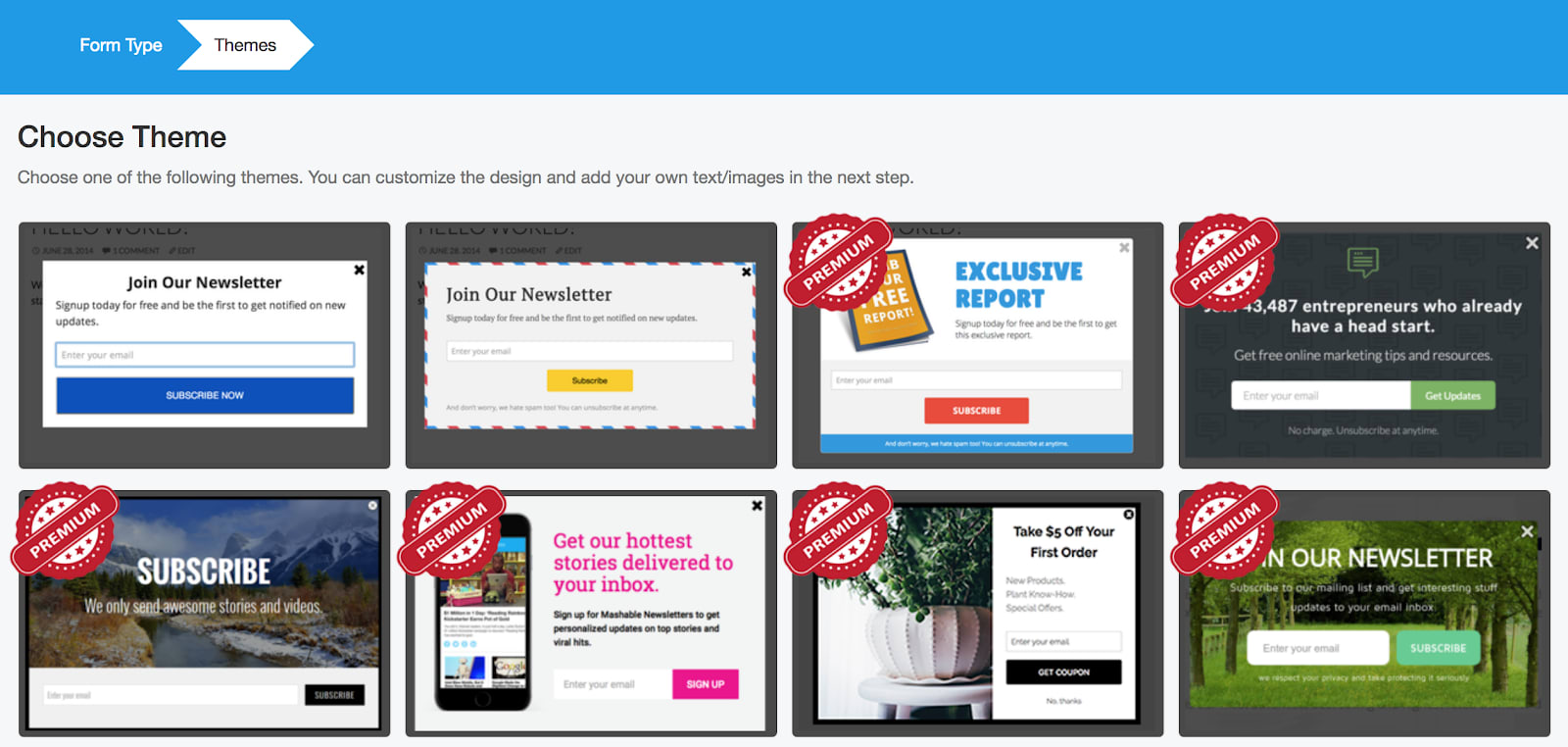 MailMunch Review Opt-In Themes