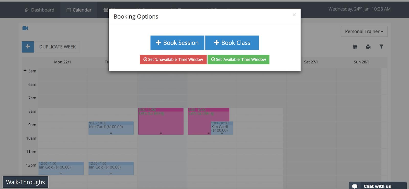 PTminder Scheduler