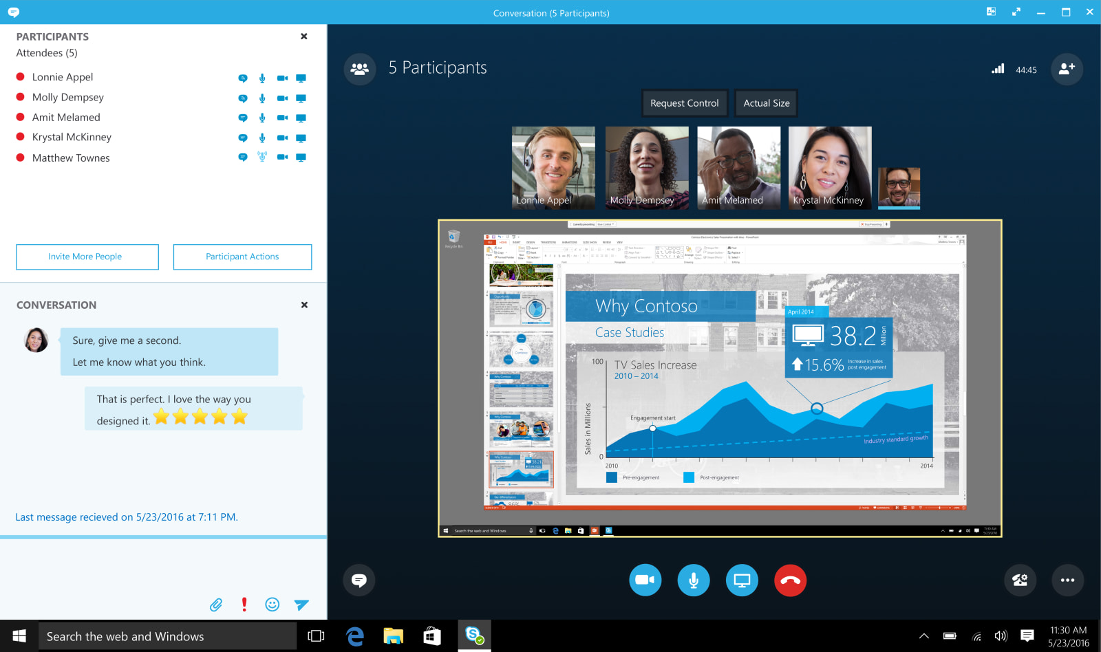 """Skype"