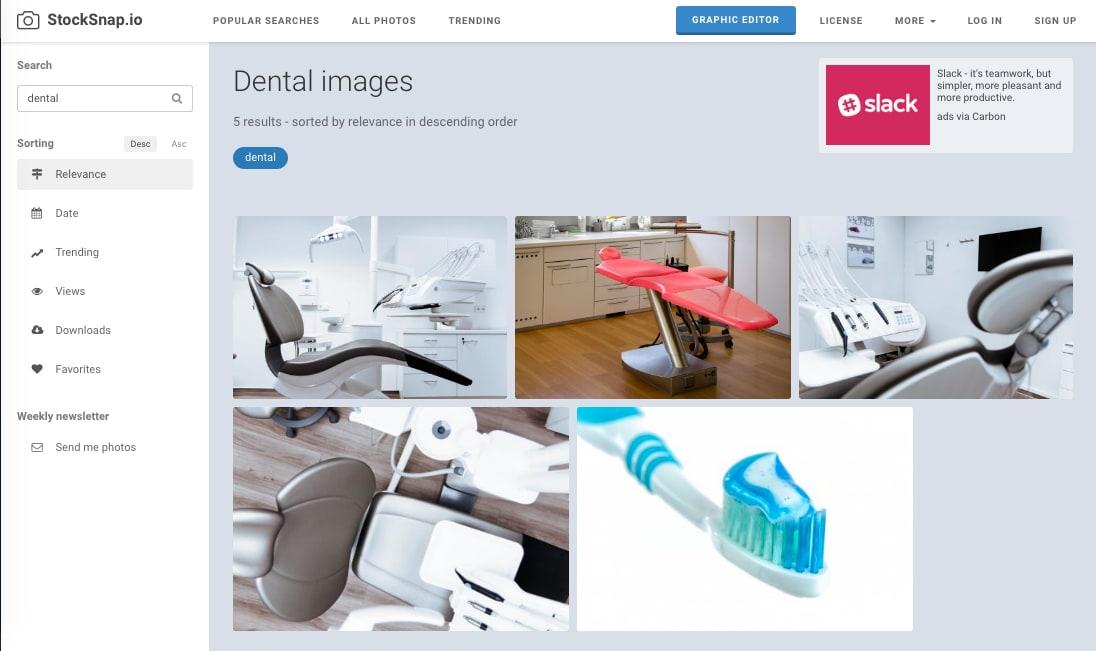 StockSnap dental stock images