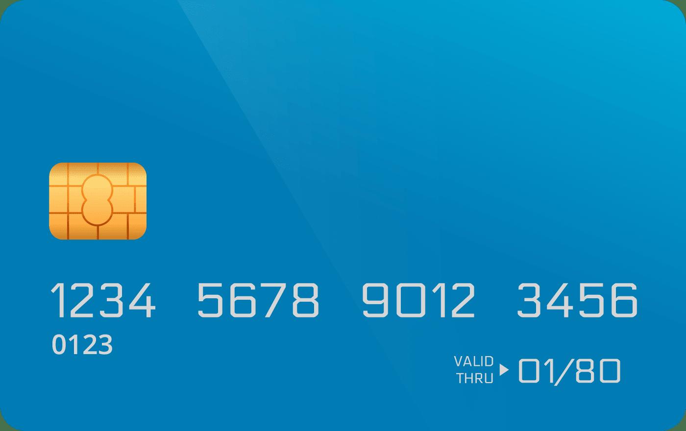 tarjeta de crédito no disponible