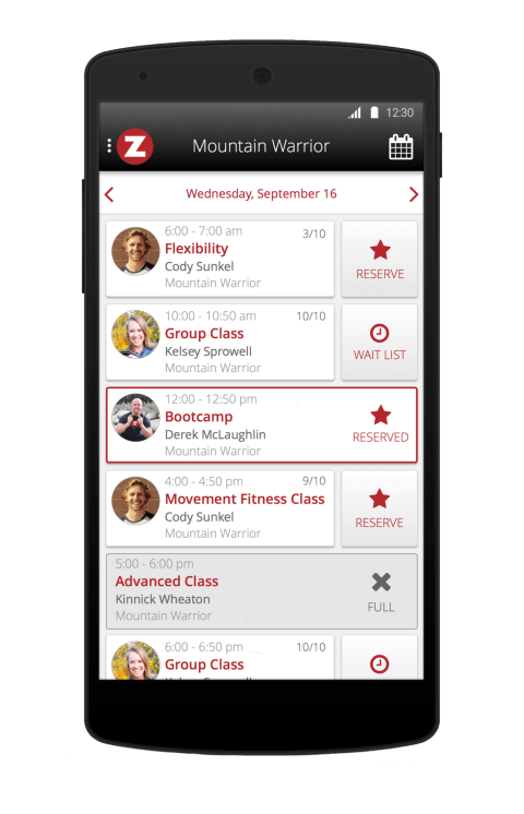Zen Planner Member App