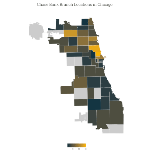 Best Banks In Chicago ValuePenguin - Chase bank locations map