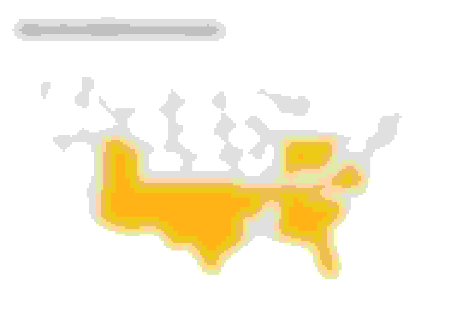 This map shows where GAINSCO insurance operates.