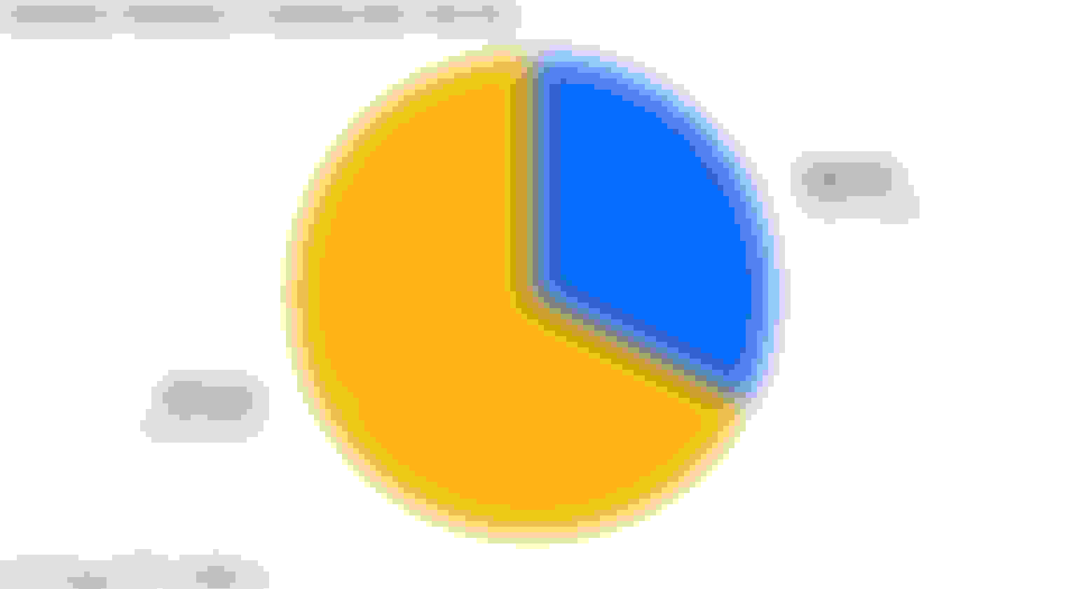 Pie chart comparing how often NYC residents rent vs. own their homes
