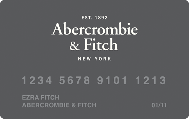 abercrombie kids credit card Abercrombie