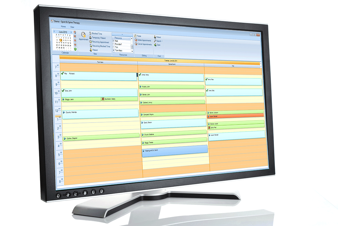 TheraOffice scheduling system