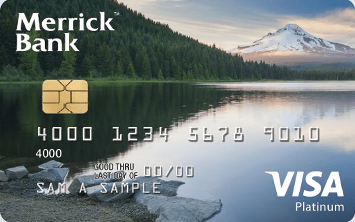 Merrick bank double your line visa