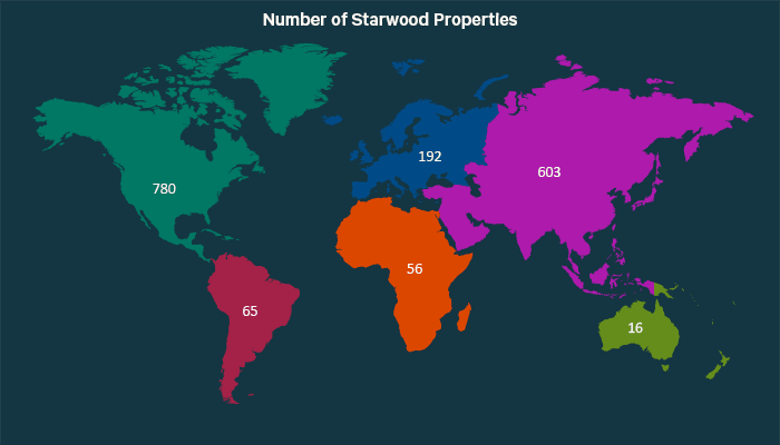 starwood hotels florida map