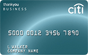 CitiBusiness ThankYou® Credit Card Image