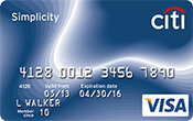 Image of Citi® Simplicity® Card