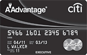 Citi Executive / AAdvantage World Elite MasterCard Image