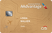 Image of Citi Gold / AAdvantage World MasterCard