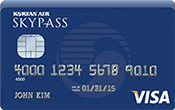 Image of Korean Air SKYPASS Visa Classic Card
