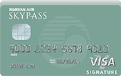 Image of Korean Air SKYPASS Visa Signature Credit Card