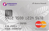 The Hawaiian Airlines® Business MasterCard® Image