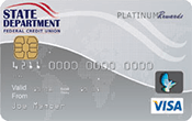 Savings Secured Visa Platinum Card Image