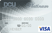 Image of DCU Visa Platinum Secured Credit Card