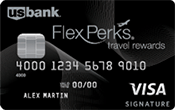 Image of US Bank FlexPerks® Travel Rewards Visa Signature® Card