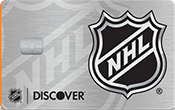 Image of NHL® Discover it® card