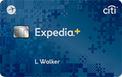 Image of Expedia®+ Card from Citi
