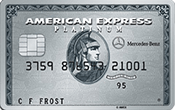 Image of Platinum Card® from American Express Exclusively for Mercedes-Benz