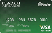 PenFed Platinum Cash Rewards Plus Card Image